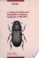 A Catalog of Scolytidae and Platypodidae  Coleoptera