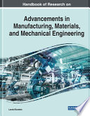 Handbook Of Research On Advancements In Manufacturing Materials And Mechanical Engineering Book PDF