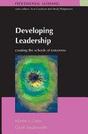 Developing Leadership Book