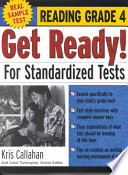 Get Ready! For Standardized Tests : Reading Grade 4