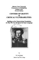 Centers Of Gravity Critical Vulnerabilities