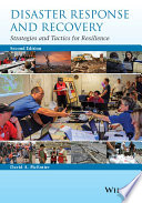 Cover of Disaster Response and Recovery