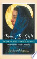 Peace  Be Still Book