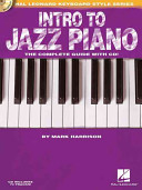 Intro to Jazz Piano  Hal Leonard Keyboard Style Series
