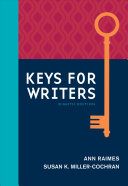 Keys for Writers with APA 7e Updates  Spiral bound Version