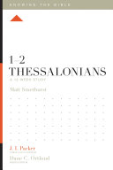 1–2 Thessalonians Pdf/ePub eBook