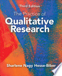 The Practice of Qualitative Research  : Engaging Students in the Research Process