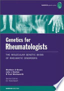 Genetics for Rheumatologists Book