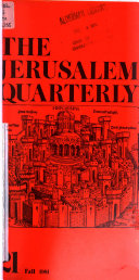 The Jerusalem Quarterly Book