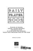 Daily Prayer 2002 Book