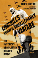 Pdf Churchill's Ministry of Ungentlemanly Warfare