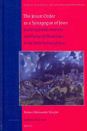 The Jesuit Order As a Synagogue of Jews
