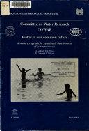 Water In Our Common Future Book PDF