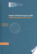 Dispute Settlement Reports 2000: Volume 11, Pages 5119-5719