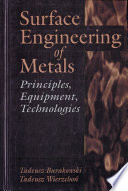 Surface Engineering Of Metals Book PDF