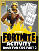 Fortnite Activity Book  Part 2