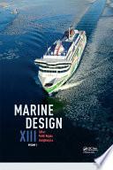 Marine Design XIII  Volume 1