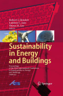 Pdf Sustainability in Energy and Buildings
