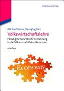 Volkswirtschaftslehre