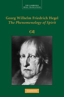 Pdf Georg Wilhelm Friedrich Hegel: The Phenomenology of Spirit
