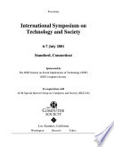 International Symposium on Technology and Society