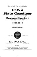 Iowa State Gazetteer and Business Directory