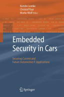 Embedded Security in Cars Book