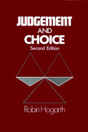 Judgment And Choice Book PDF