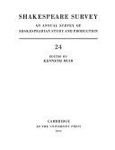 Shakespeare Survey  Shakespeare  Theatre Poet