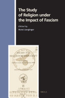 The Study of Religion Under the Impact of Fascism