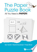 Paper Puzzle Book  The  All You Need Is Paper