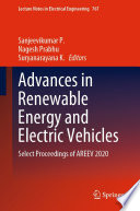 Advances in Renewable Energy and Electric Vehicles