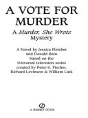 Murder, She Wrote: A Vote for Murder