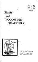 Brass and Woodwind Quarterly