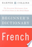 HarperCollins Beginner's French Dictionary