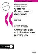 Comptes des administrations publiques