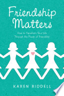 Friendship Matters Book PDF