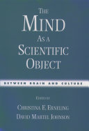 The Mind as a Scientific Object