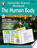 Interactive Science Notebook  The Human Body Workbook