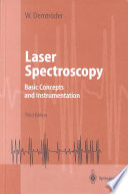Laser Spectroscopy Book PDF