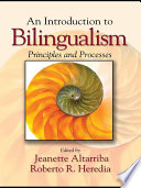 An Introduction To Bilingualism Book PDF