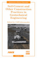 Soil Cement And Other Construction Practices In Geotechnical Engineering