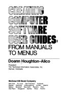 Creating Computer Software User Guides
