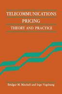 Pdf Telecommunications Pricing