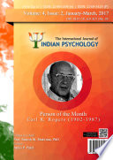The International Journal Of Indian Psychology Volume 4 Issue 2 No 95