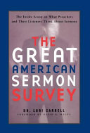 The Great American Sermon Survey Pdf/ePub eBook