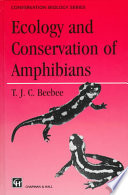 Ecology And Conservation Of Amphibians Book PDF