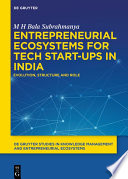 Entrepreneurial Ecosystems for Tech Start-ups in India