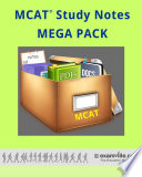 MCAT Study Review Notes   MEGA PACK  900  Pages