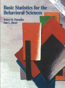 Basic Statistics for the Behavioral Sciences Book